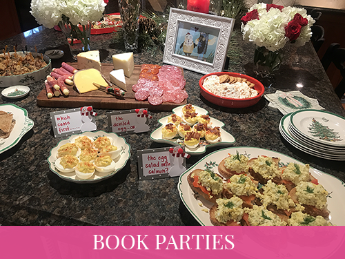 Book Party Planning