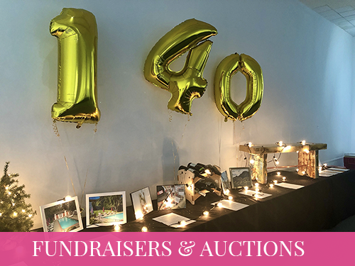 Charity Fundraisers and Auctions