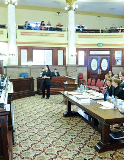 Montana High School Mock Trial at the Montana State Capitol